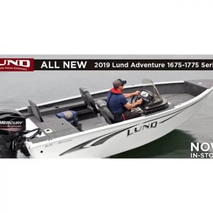 Lund Adventure Tiller 16.80 Feet or 5.13m