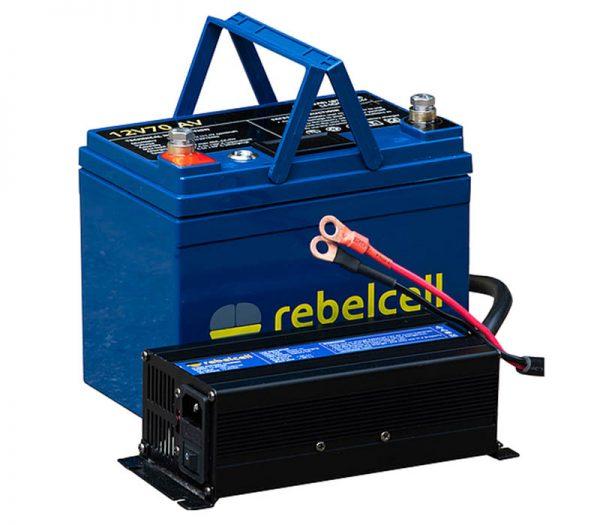 Rebelcell 12volt 70amp