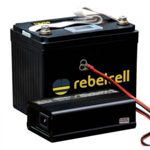 Rebelelcell 12V50 li-ion battery