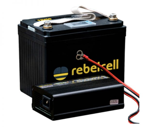 Rebelelcell 12V50 li-ion battery