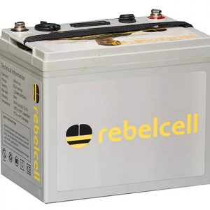 rebelCell 24V50 Angling li-on battery (charger included)